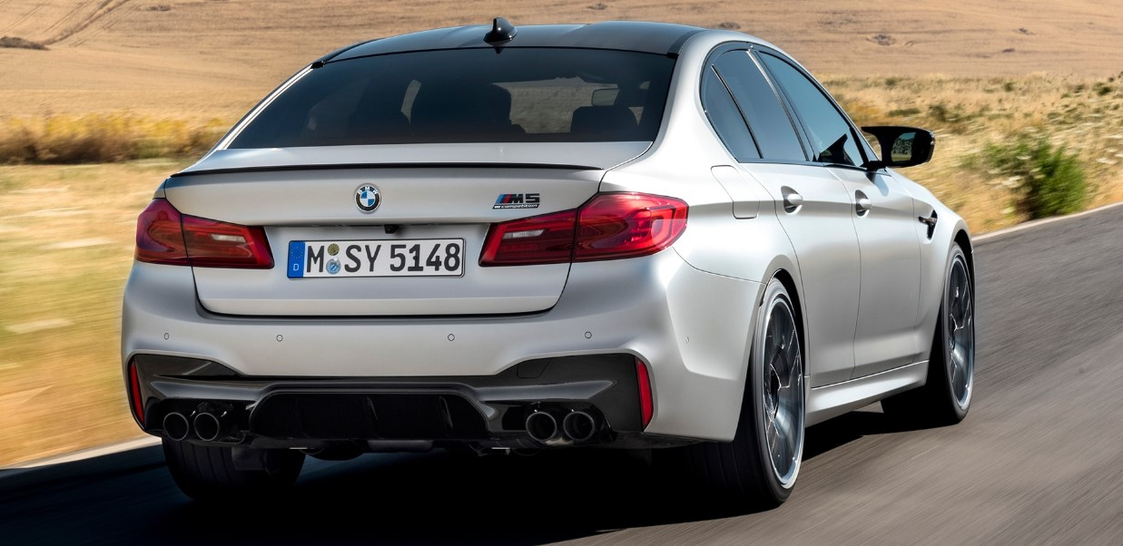 2021 BMW M5 Sedan Specifications Changes