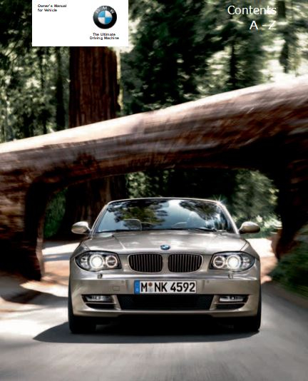 2010 BMW 128i Convertible Owners Manual Manuals Books
