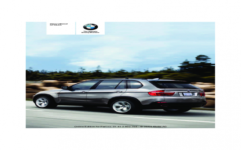 2010 BMW X6m Owners Manual Volkswagen Owners Manual
