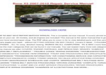 2011 BMW X5 E70 Owners Manual
