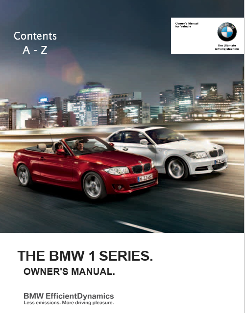 2013 BMW 135i Convertible Owners Manual Manuals Books