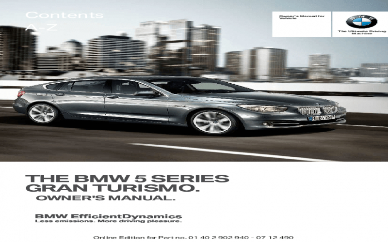 2013 BMW 535i Gt Owners Manual Volkswagen Owners Manual