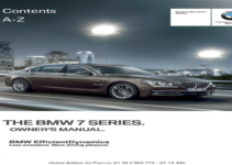 2013 BMW 740i Owners Manual