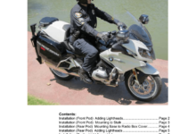 2016 BMW R1200rt Owners Manual