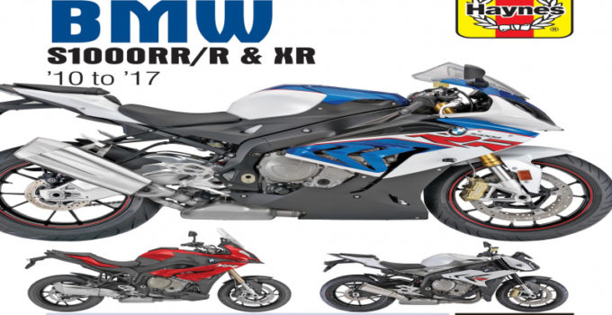 2017 BMW S1000r Owners Manual