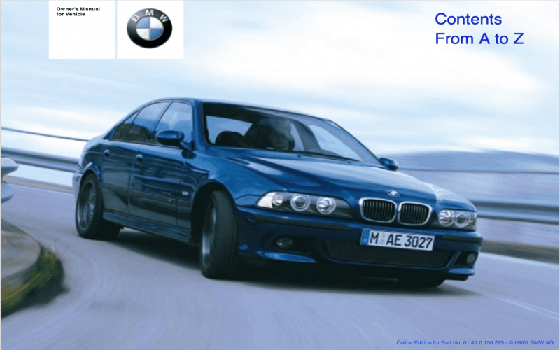 2019 BMW 540i Owners Manual Pdf Owners Manual