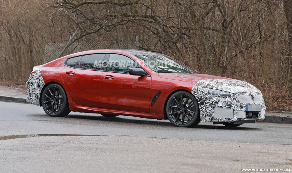 2023 BMW 8 Series Gran Coupe Spotted During Testing BMWCoop