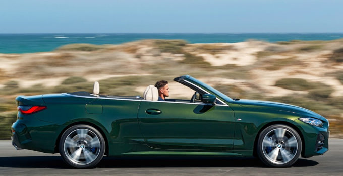2023 BMW 4 Series Convertible – Changes