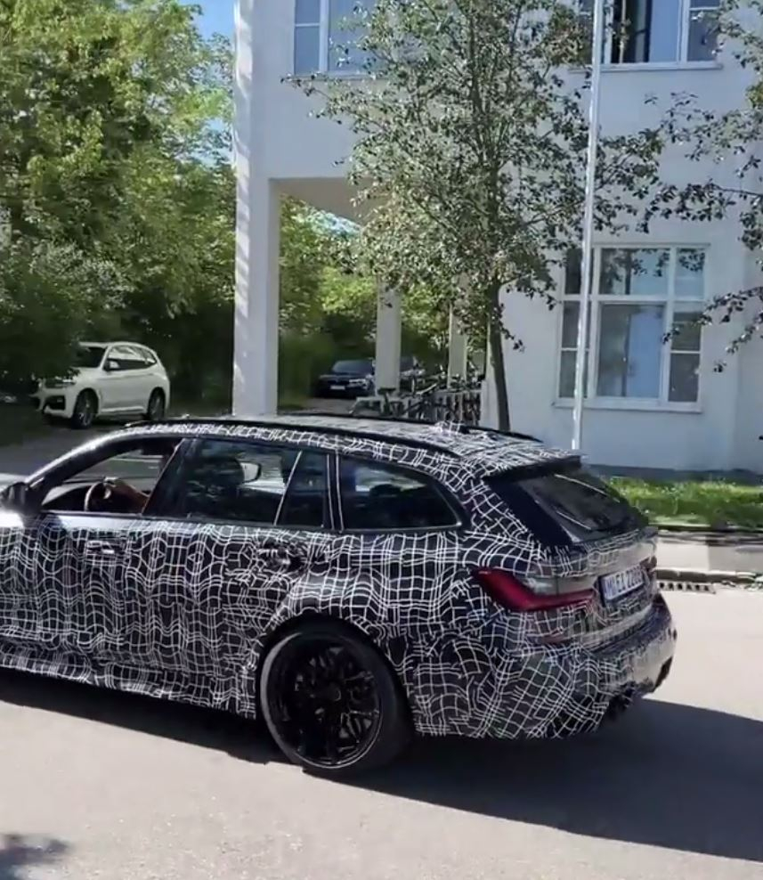 2023 BMW M3 Wagon Spied With Production Body Has 4 Series