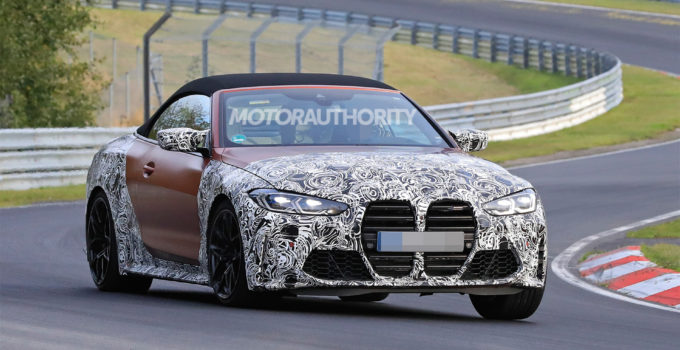 2023 BMW M4 Convertible – Changes