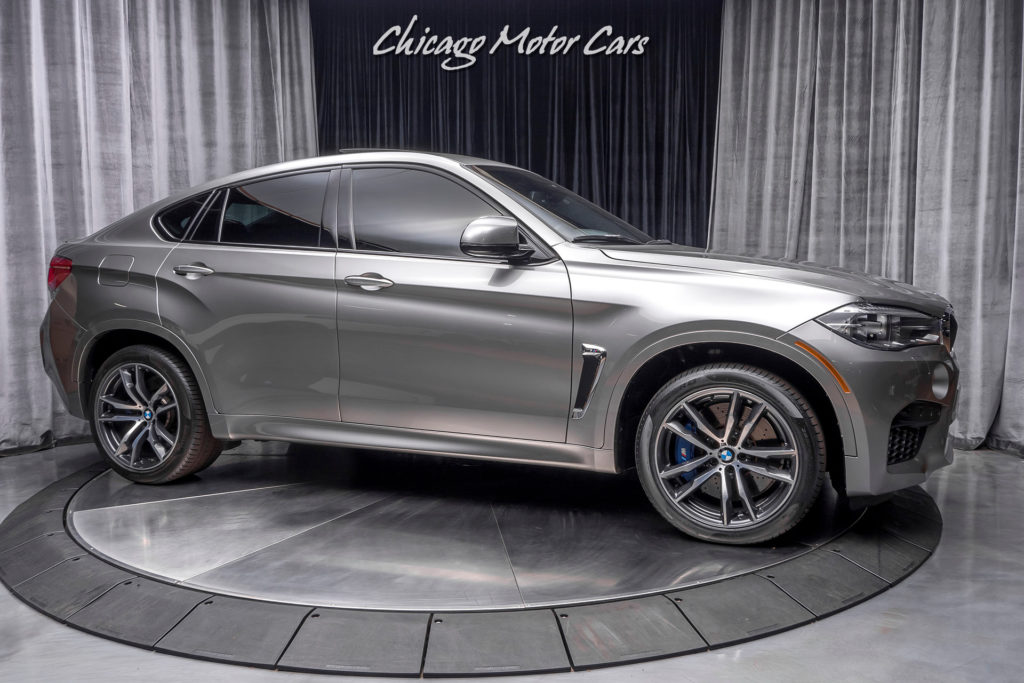 Used 2017 BMW X6 M AWD SUV MSRP 112K EXECUTIVE PACKAGE